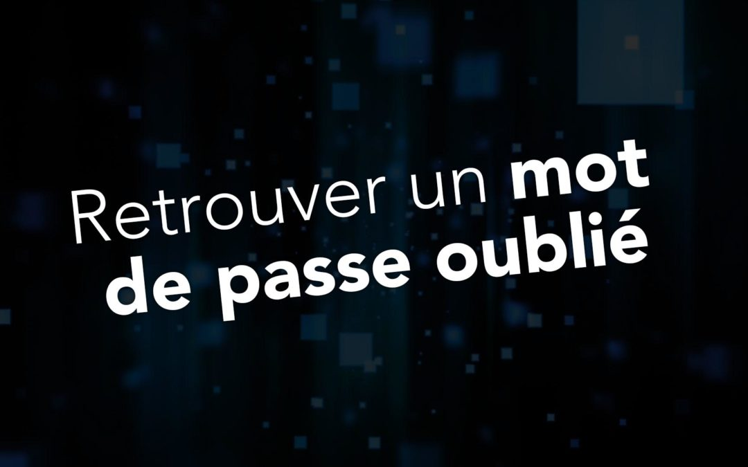 Mac Expert Montpellier comment retrouver un mot de passe perdu ou oublié